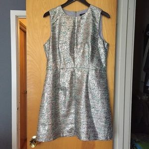 French Connection Metallic Dress